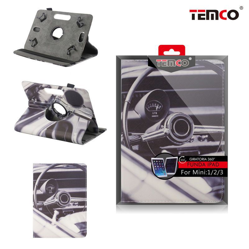 funda ipad mini 1 / 2 / 3 steering wheel