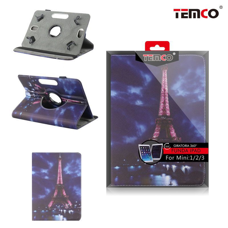 funda ipad mini 1 / 2 / 3 eiffel tower