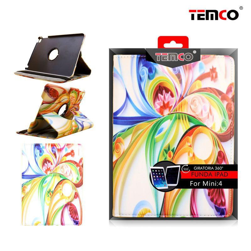 funda ipad mini 4 art