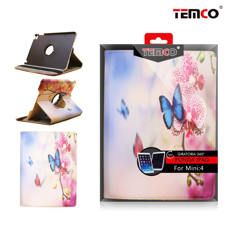 funda ipad mini 4 butterflies