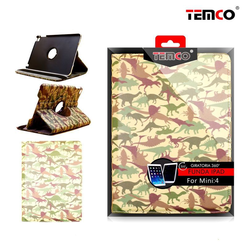 funda ipad mini 4 dino