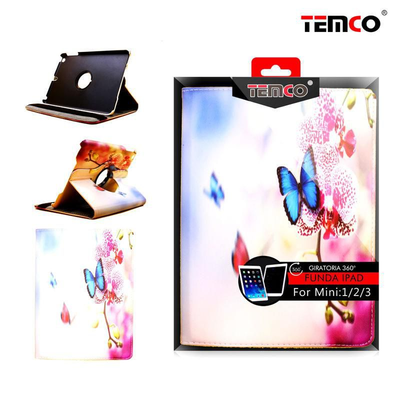 funda ipad mini 1 / 2 / 3 butterflies