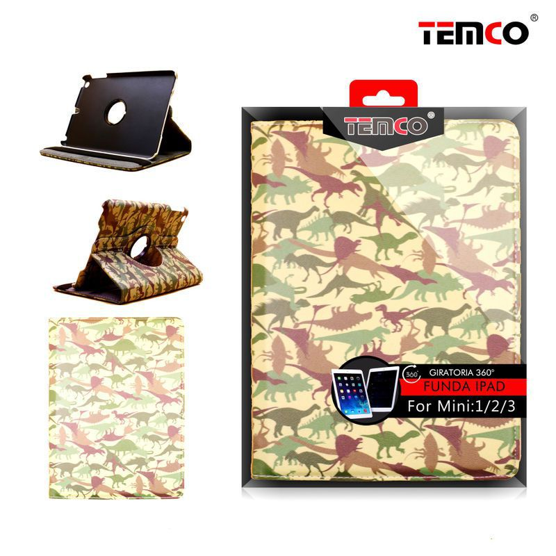 funda ipad mini 1 / 2 / 3 dinosaur