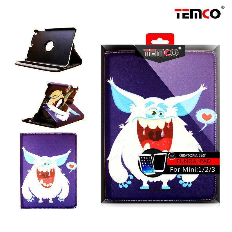 funda ipad mini 1 / 2 / 3 monsters