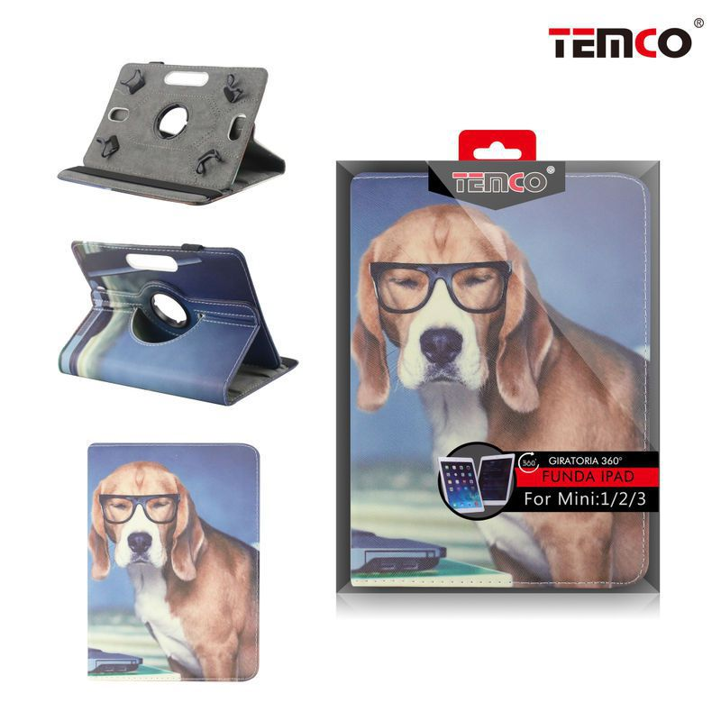funda ipad mini 1 / 2 / 3 dog