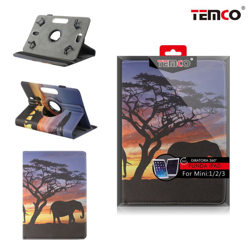 funda ipad mini 1 / 2 / 3 elephant
