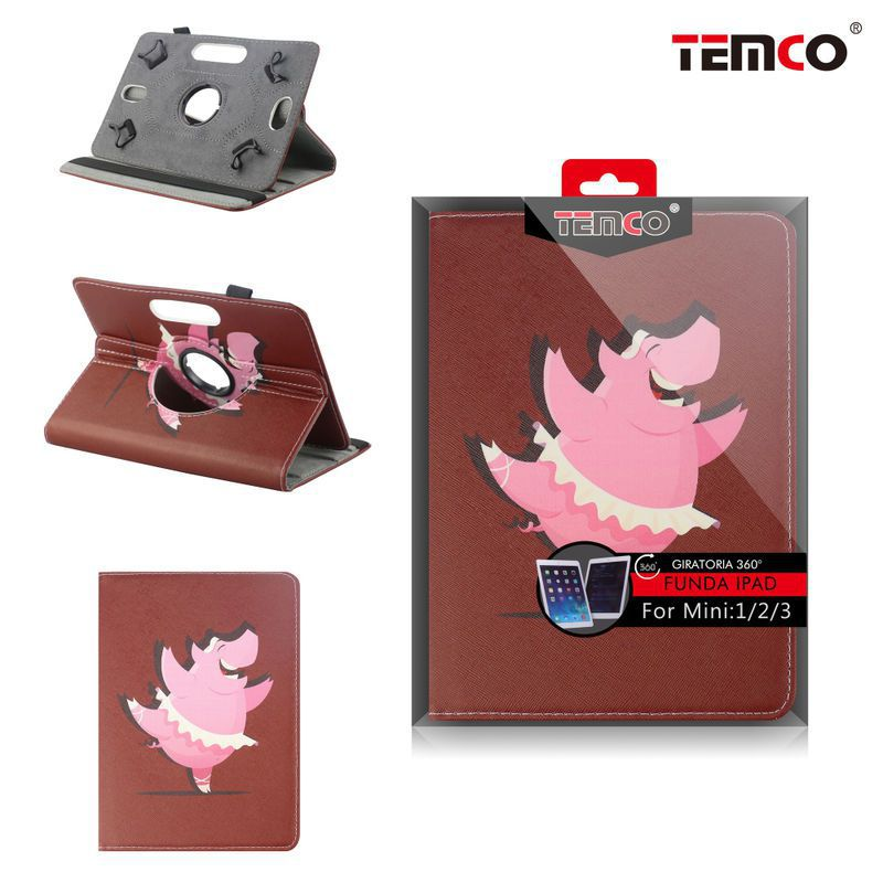 funda ipad mini 1 / 2 / 3 pig