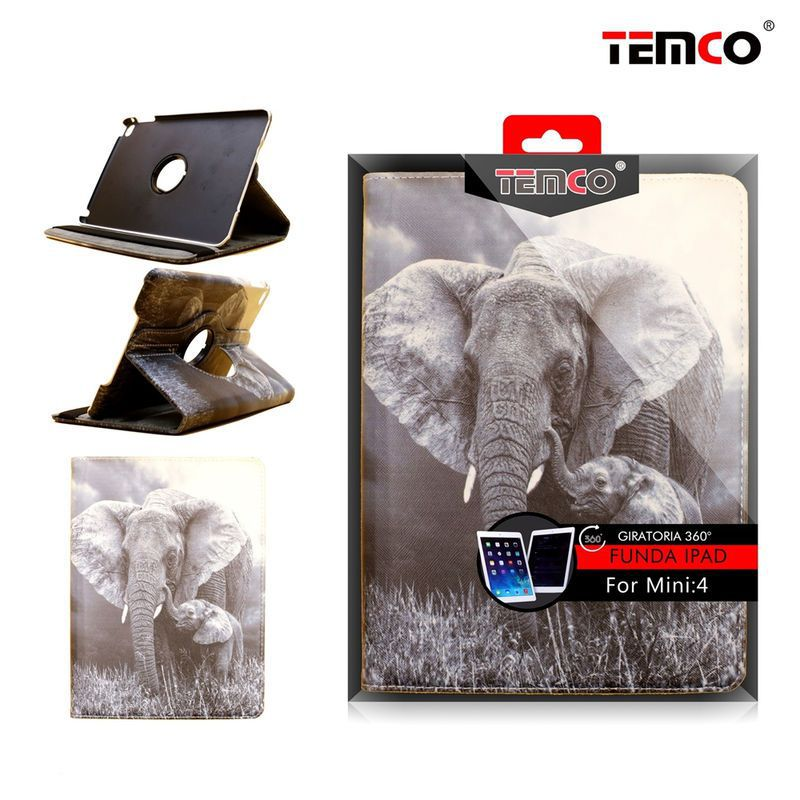 funda ipad mini 4 / 5 elephant
