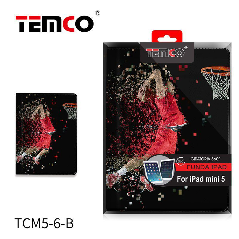 funda ipad mini 4 / 5 basketball