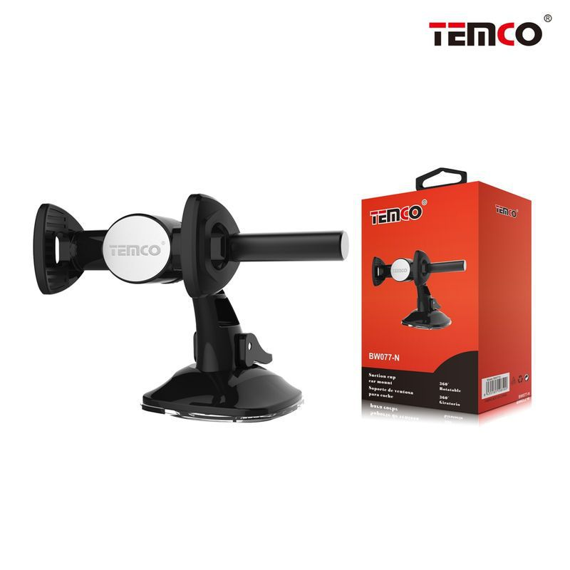 Mobile Suction Cup Black
