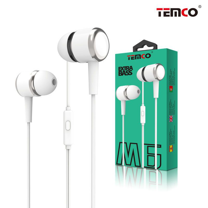 M6 White Headphones