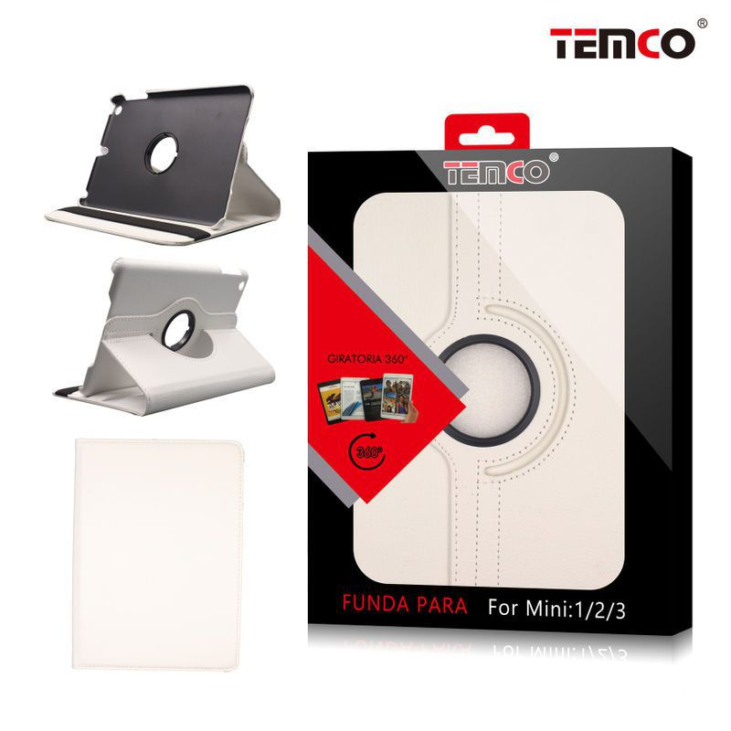 Funda iPad Mini 1 / 2 / 3 Blanco