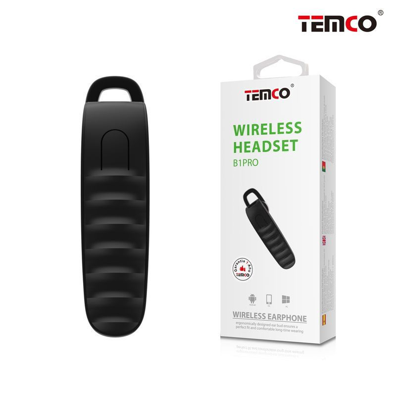 auricular manos libres bluetooth relieve negro