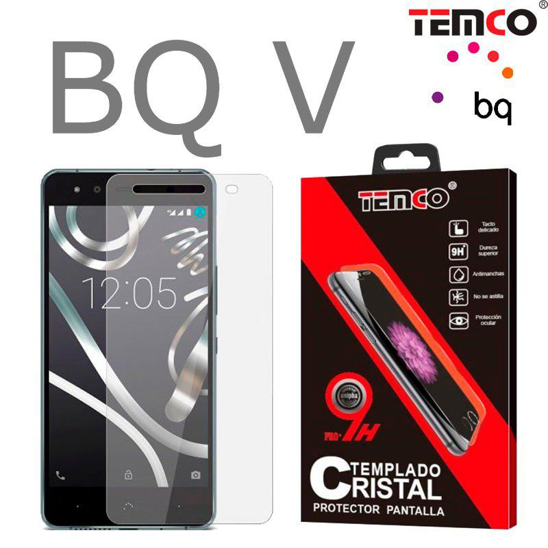 BQ V Tempered Glass