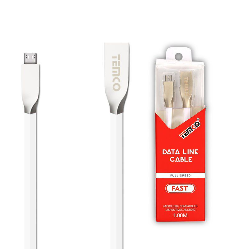 New Cable 5V 1A 1M Micro USB 5P White