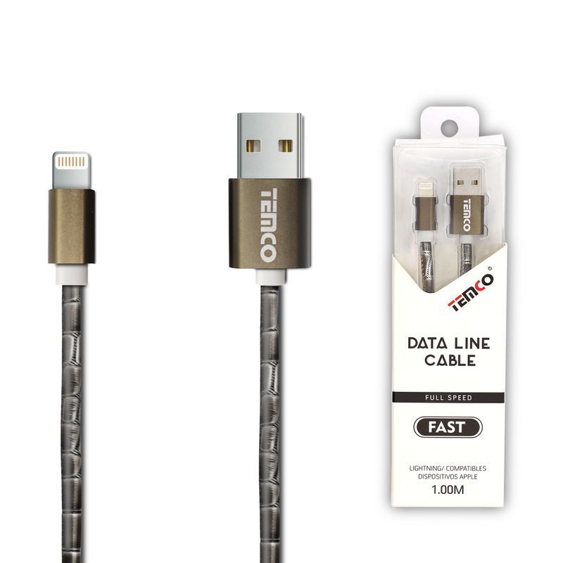 New Cable 5V 1A 1M Apple Gray