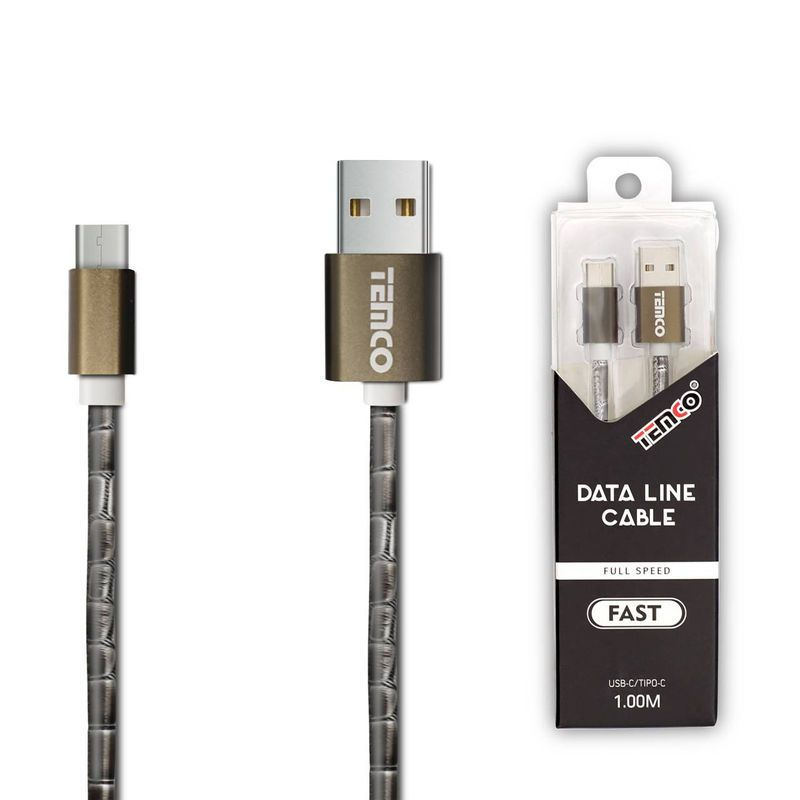 cable 1a 1m tipo c gris