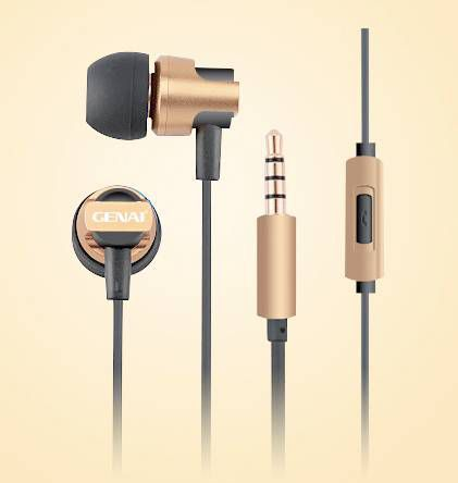 Headphones with Micro Gold