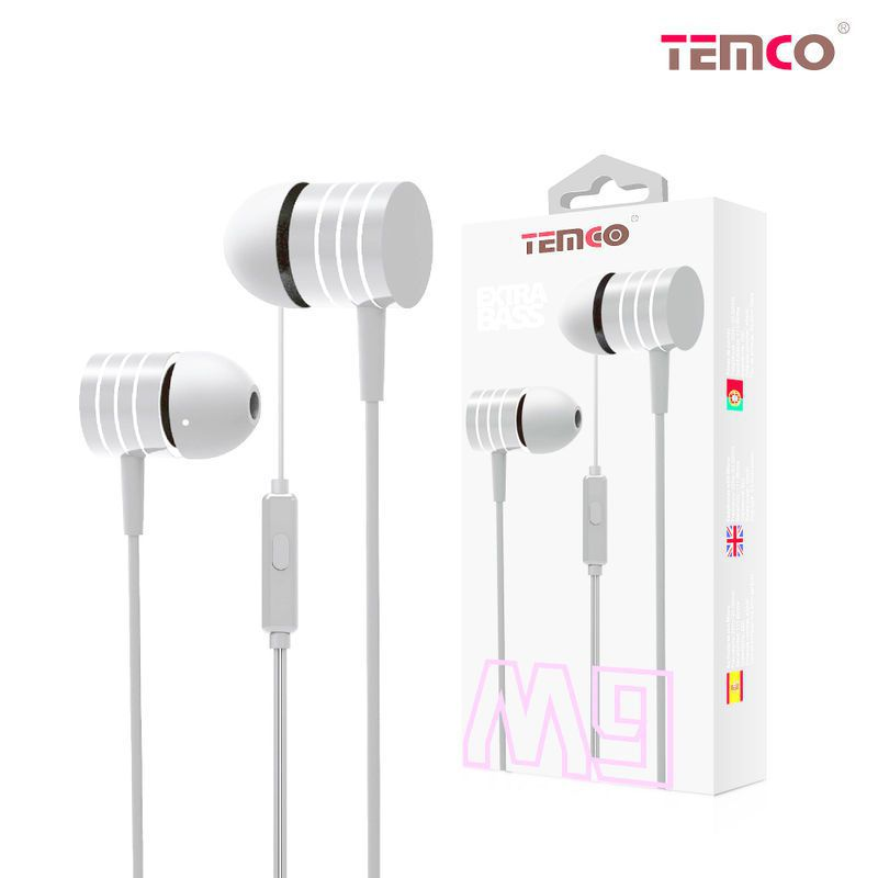 M9 White headphones