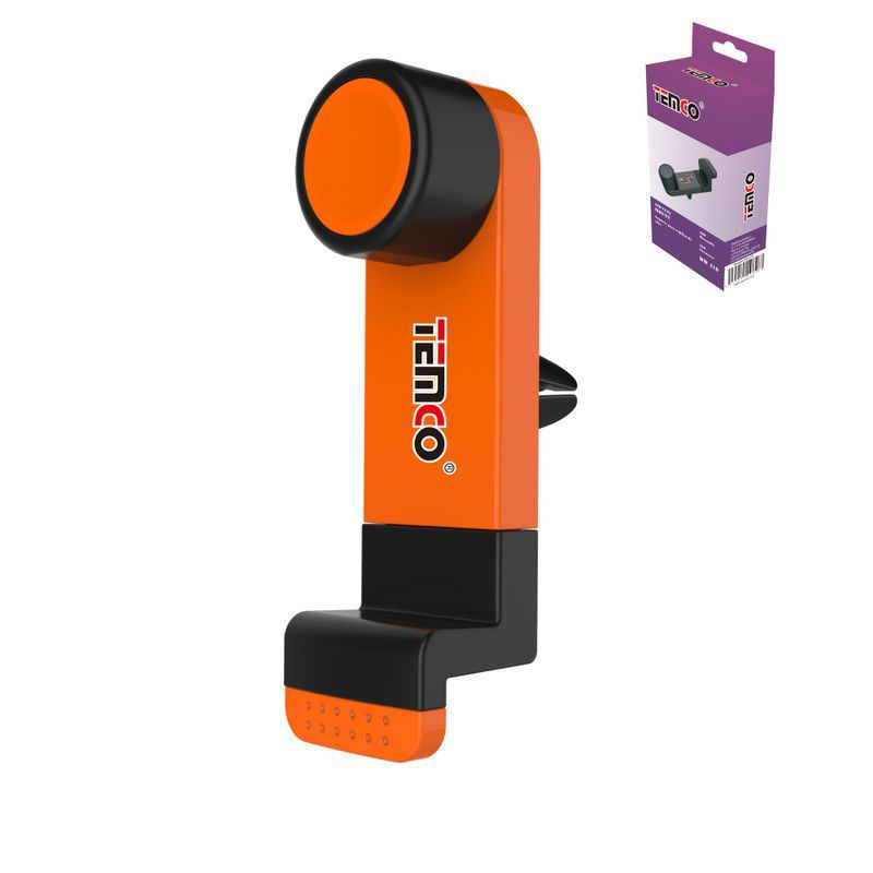 Orange Air Grid Mobile Stand