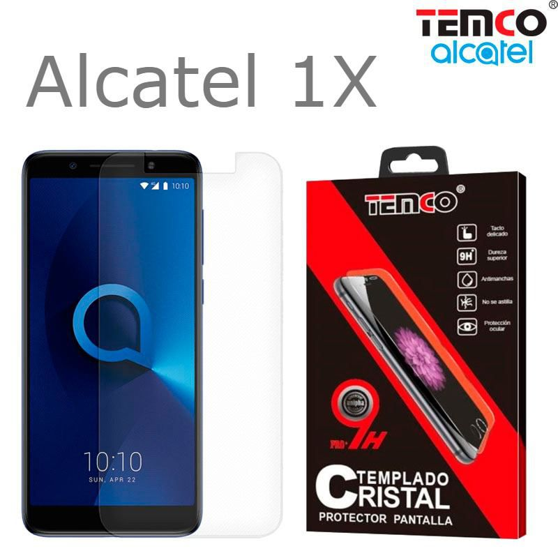 1X Alcatel Tempered Glass