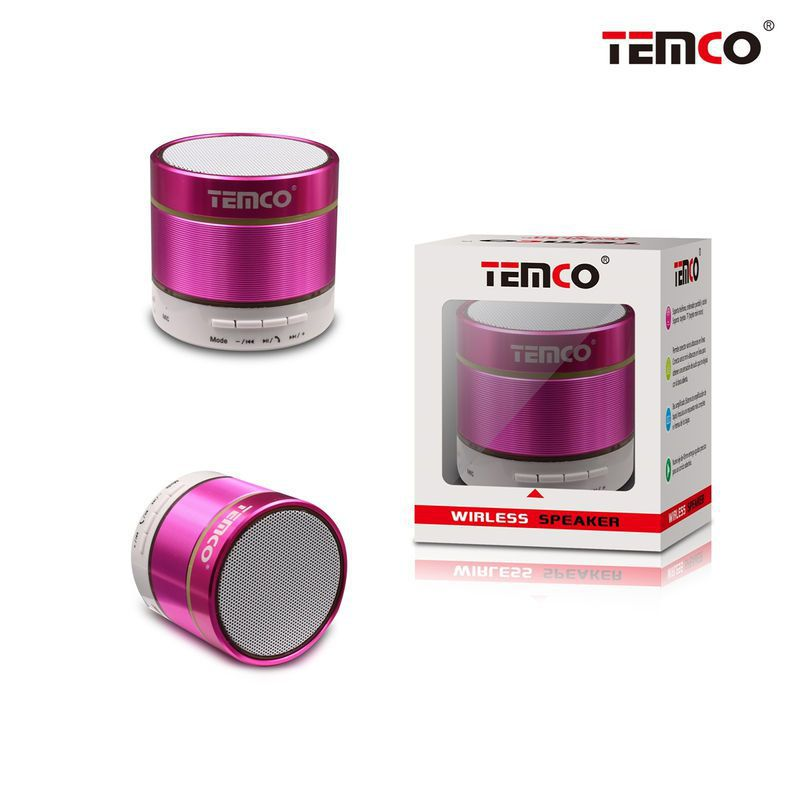 Fuxia Smooth Cylinder Mini Speaker