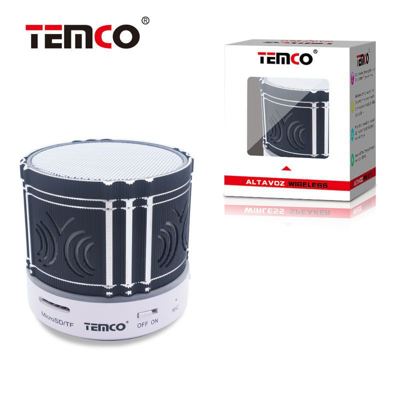 Mini Metallic Bluetooth Speaker Black