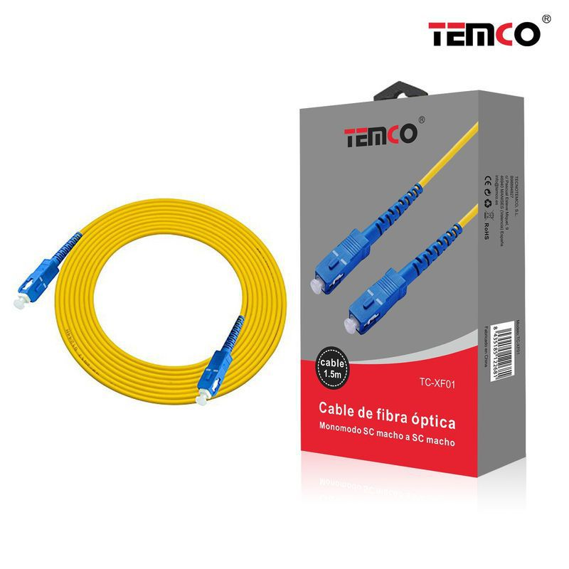1M fiber optic connection cable