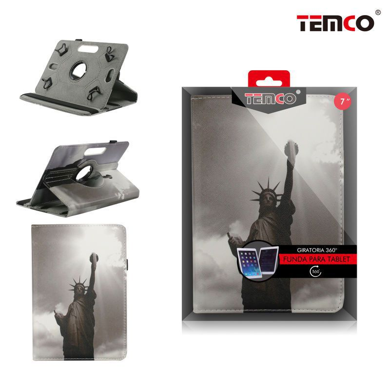 Funda Tablet Universal 7.0 Statue of Liberty