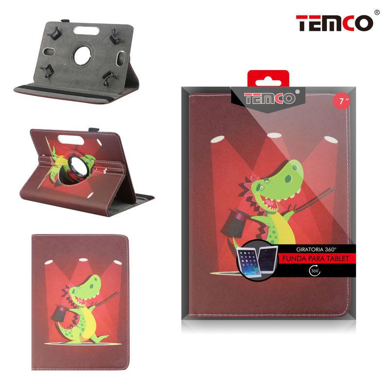 Universal 7.0 Dinosaur Tablet Case