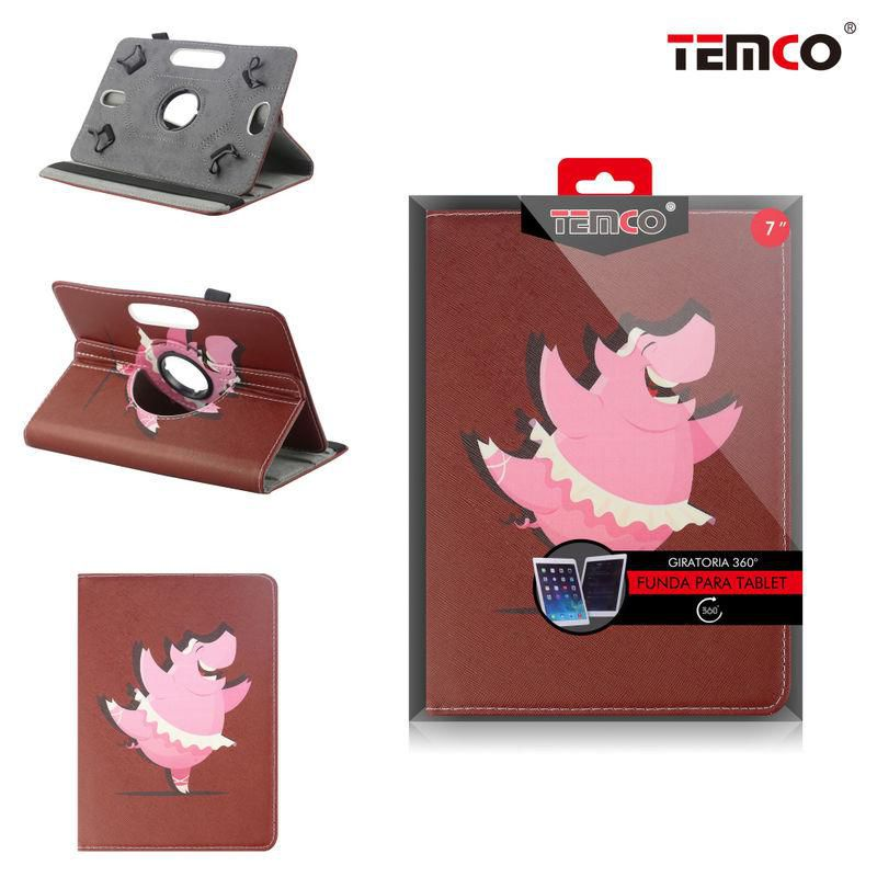 Universal 7.0 Pig Tablet Case