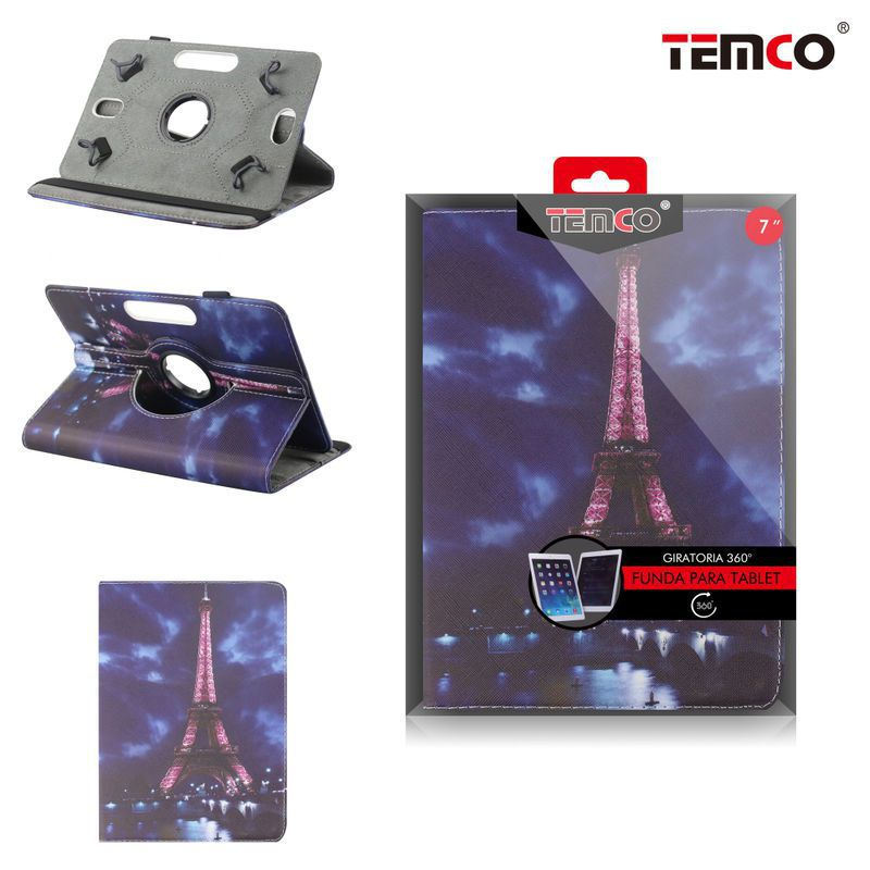 Universal Tablet Case 7.0 Eiffel Tower