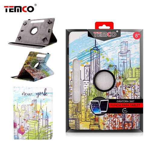 funda tablet universal 8.0 york