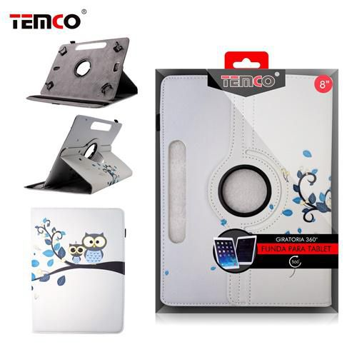 funda tablet universal 8.0 owls