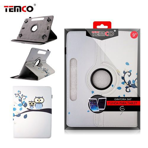 Funda Tablet Universal 9.0 Owls