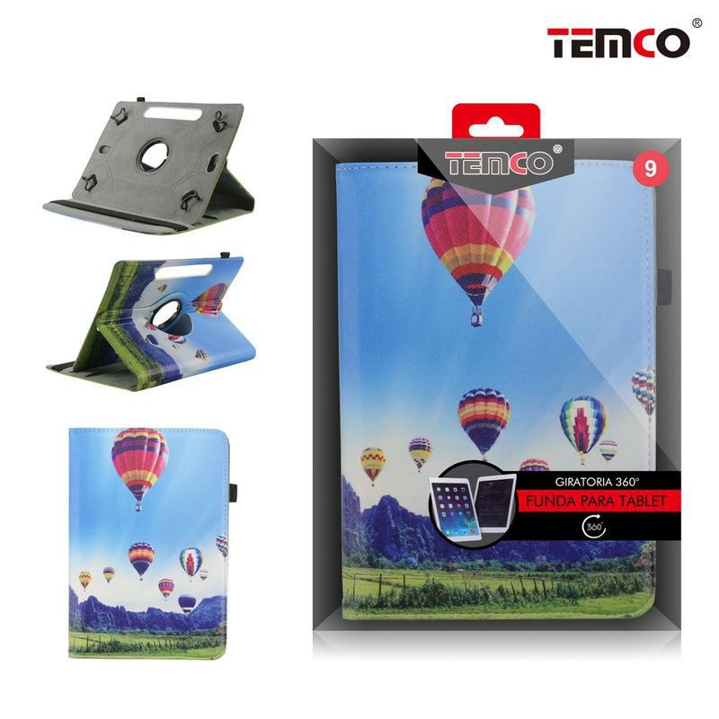 Universal Tablet Case 9.0 Ballons