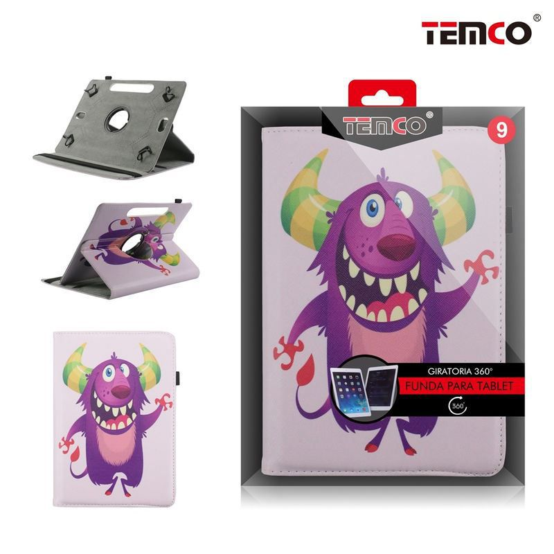 Funda Tablet Universal 9.0 Devil