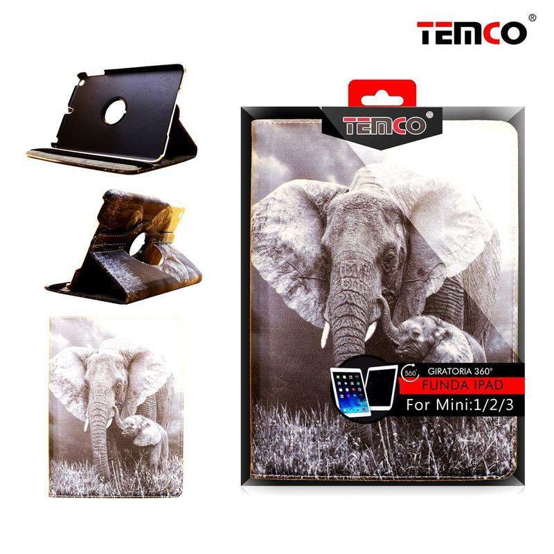 Ipad Mini 1/2/3 Elephant case