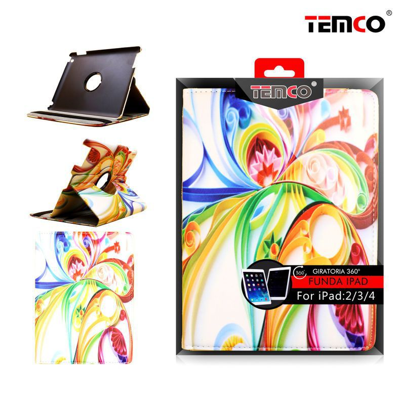 Funda iPad 2 / 3 / 4 Art