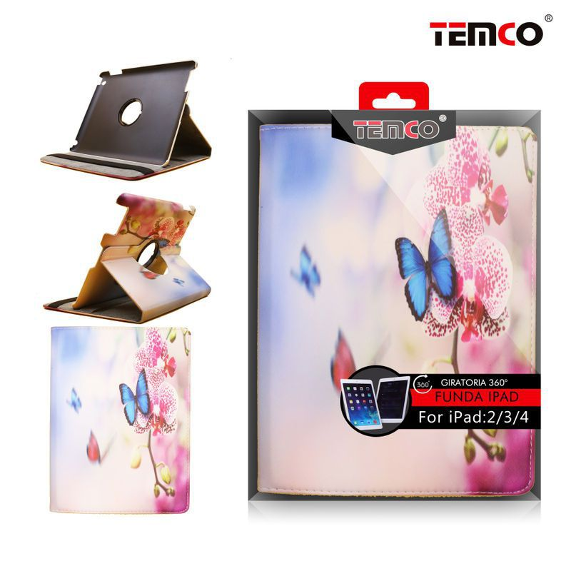 Funda iPad 2 / 3 / 4 Butterflies
