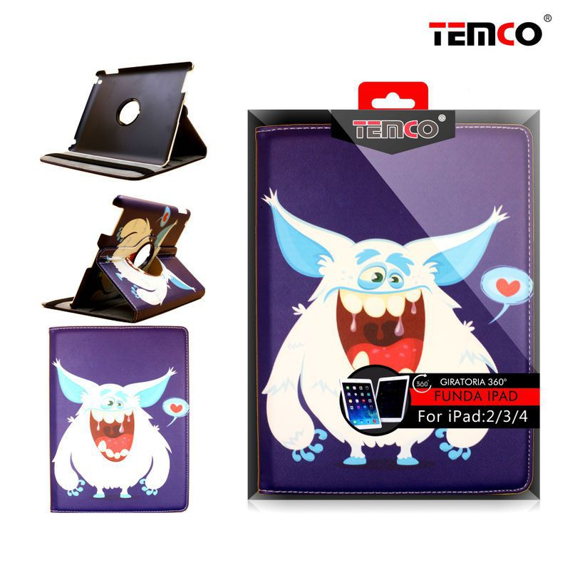 Funda iPad 2 / 3 / 4 Monster