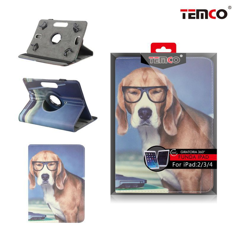 Funda iPad 2 / 3 / 4 Dog