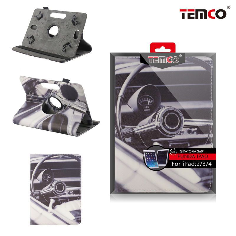 Funda iPad 2 / 3 / 4 Steering Wheel