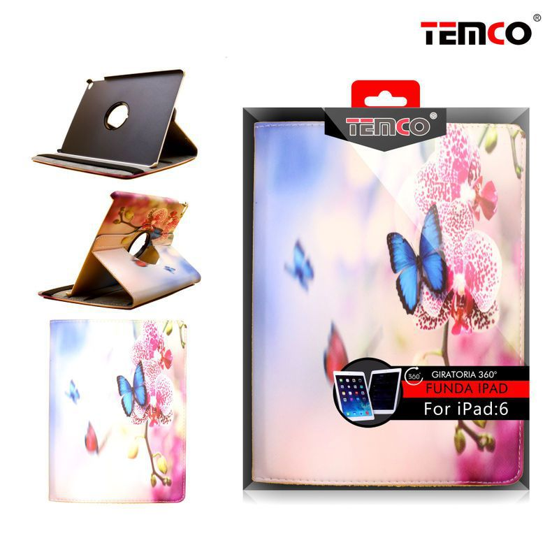 Funda iPad 5 / 6 / Air 2 Butterflies