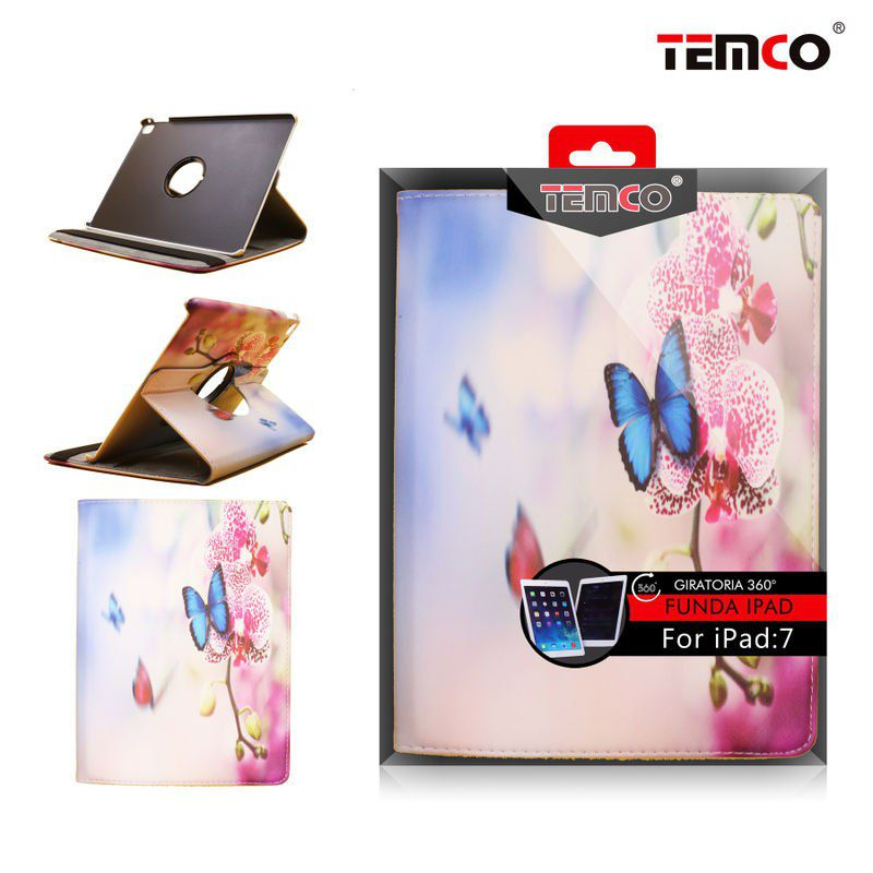 Funda iPad 7 Air 2 Butterflies
