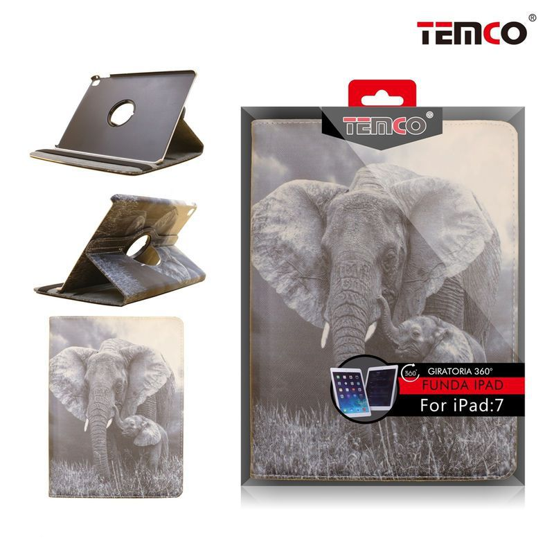 Funda iPad 7 Air 2 Elephant