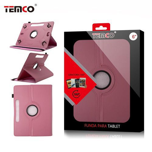 funda tablet universal 8.0 rosa