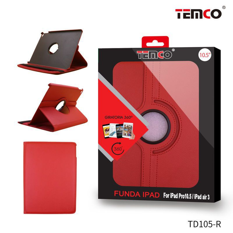 Funda iPad Pro 10.5''/ Air 3 Rojo