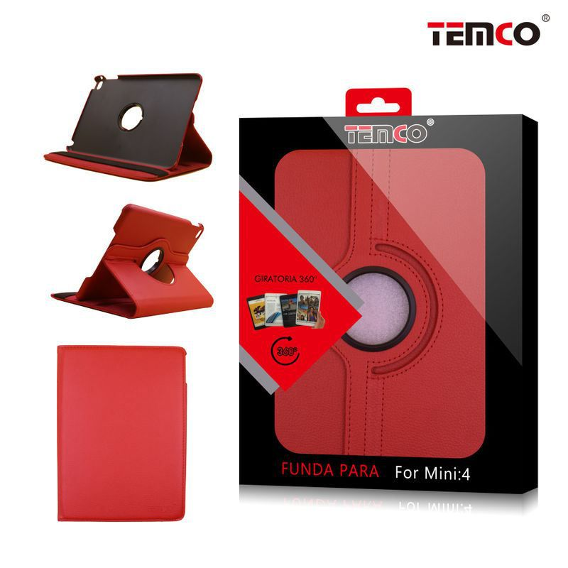 Funda iPad Mini 4 Rojo