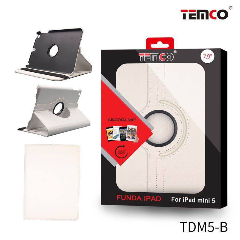 Funda iPad Mini 4 / 5 Blanco